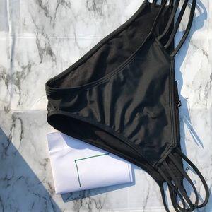 Black bikini bottoms